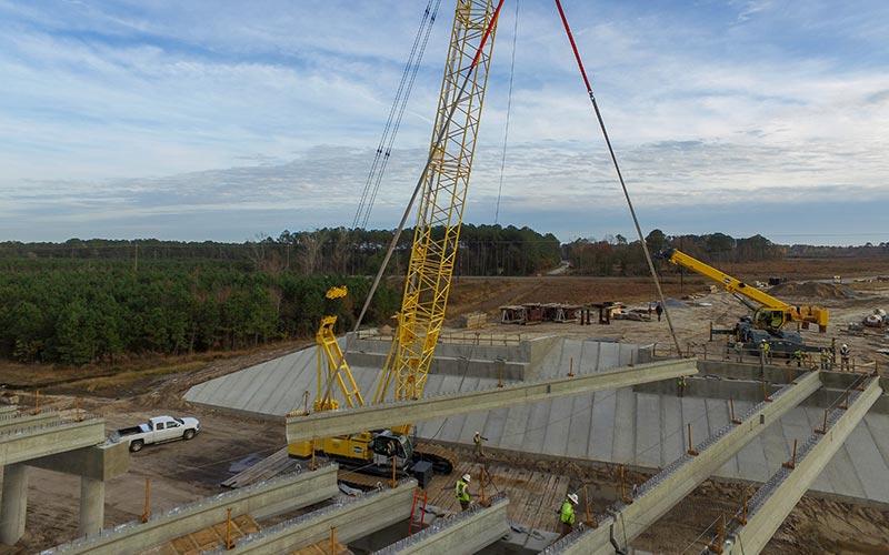 Fayetteville Bridge   Sanford Contractors
