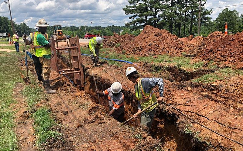 Utility Division   Sanford Contractors